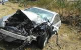 Cuantiosos daños materiales en dos vehículos de motor.